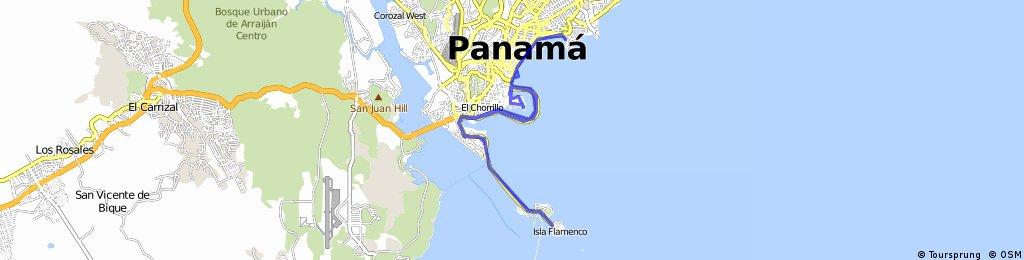 Panama Causeway - Paitilla