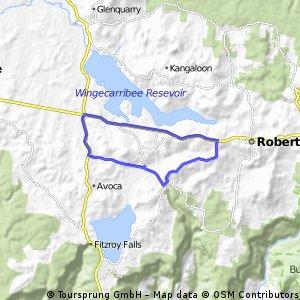 22km route