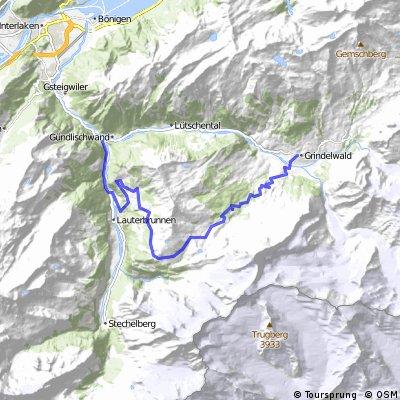 Grindelwald - Zweilütschinen (Eiger-Jungfrau)