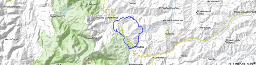 Sarnano/Amandola and back
