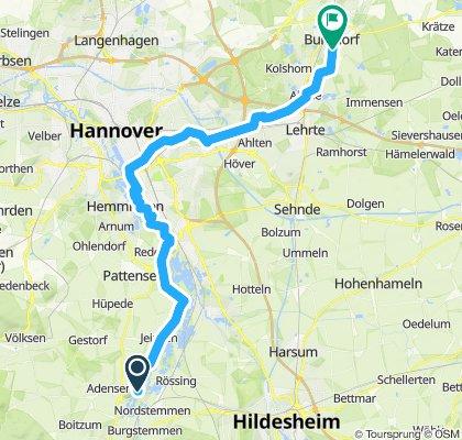 Von der Marienburg nach Burgdorf
