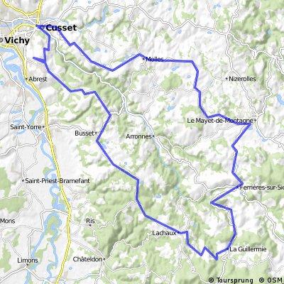 Montagne Bourbonnaise : Lachaux, Mayet