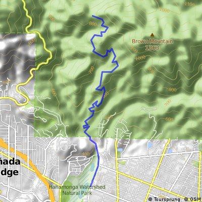 Brown Mountain Trail, Altadena, CA