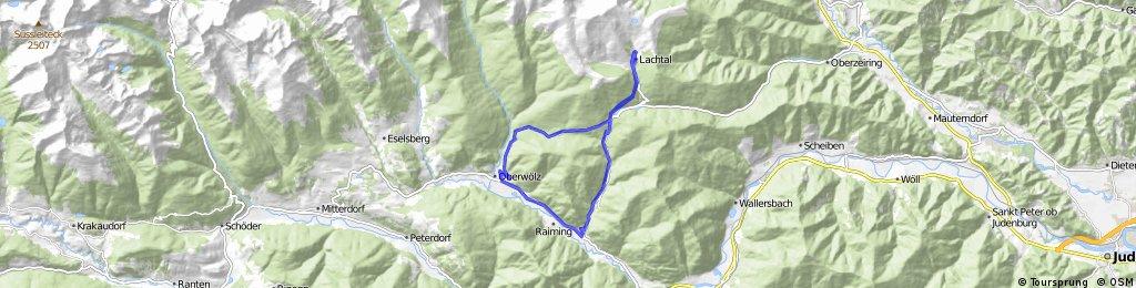 Oberwölz - Lachtal - Oberwölz
