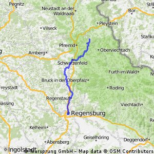 Regensburg - Tännesberg