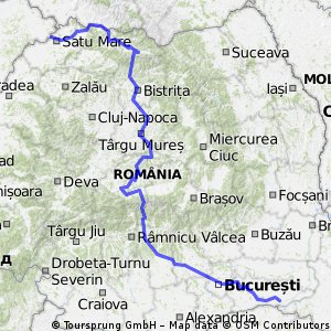 Visiting Romania by bike