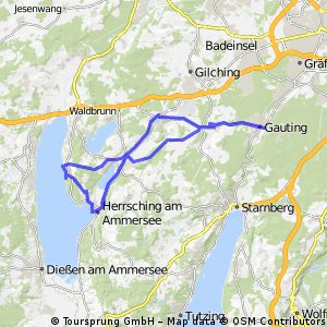 Gauting Ammersee (Breitbrunn) Herrsching Gauting
