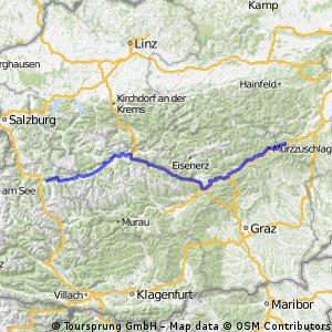 Radstadt-Semmering