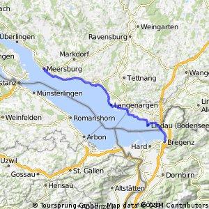 Meersburg-Lindau-Pfänder