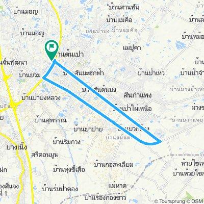 sanklang-sankamphaeng route