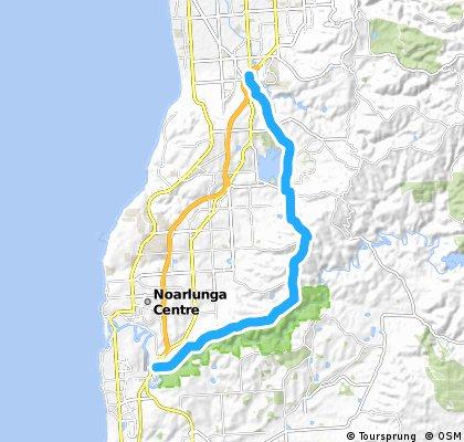 McLaren Vale to Flinders BSA draft