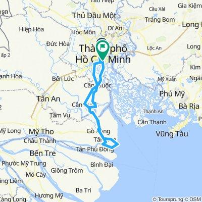 Đạp xe Sài Gòn - biển Gò Công