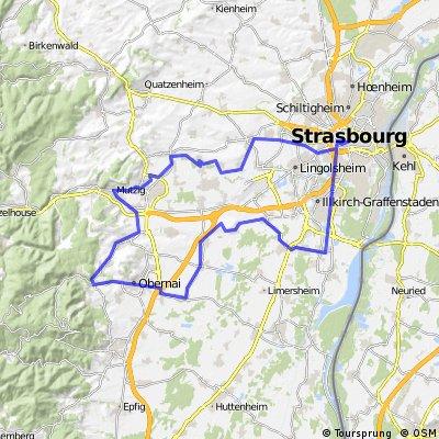 Bike route planner in Strasbourg Bikemap Top bike routes
