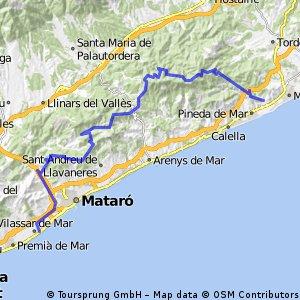 Vilassar - Santa Susana (2ª parte Transmaresme)