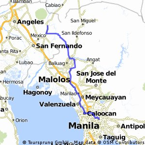 Cycling Routes And Bike Maps In And Around Arayat Bikemap Your - Porac map