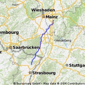 Darmstadt-Arheilgen - Haguenau