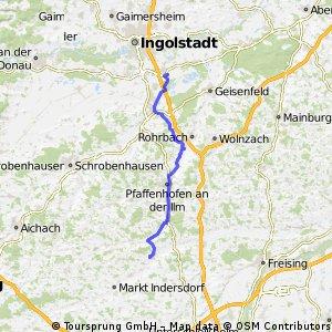 Manching - Petershausen