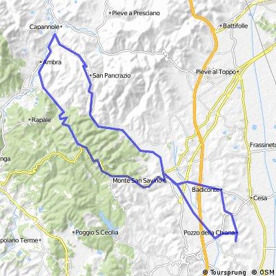 Rond de Poggio all'Olmo - 63 km