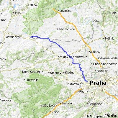 Praha-Louny-67 km, 490 vm