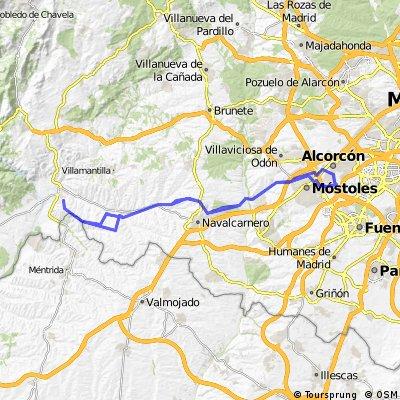 Alcorcon-Picadas-Alcorcon Circular