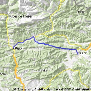 5/16 Ripoll to Olot 34km