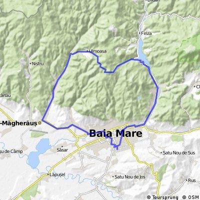 Baia Mare_Baita_Ulmoasa_Valea Romana_Baia Mare
