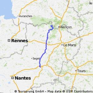 Angers - Pré-en-Pail (5 giri circuito finale)