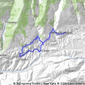 ruta por nieles y timar