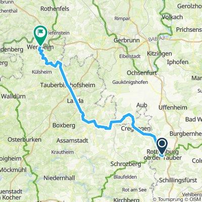 3_Rothenburg - Wertheim (Taubertal)