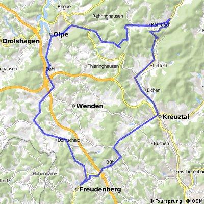 d3 freudenberg 60 km