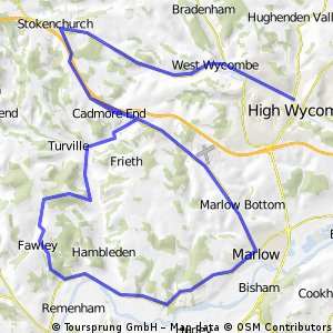 High Wycombe: The Fawley Chilterns Loop