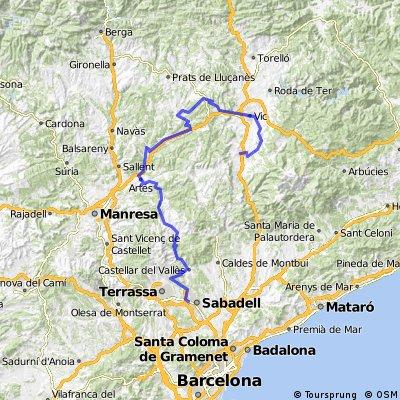 Sabadell-Oristà-Tona