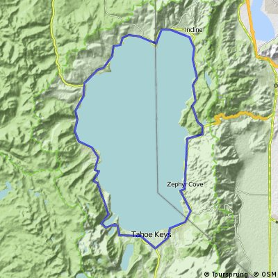 Tahoe Loop from Old Brockway