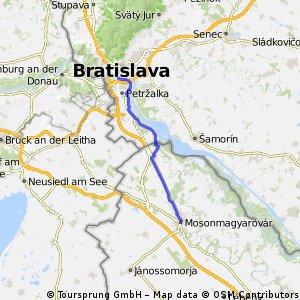 3-Bratislava-Mosonmagyarovar