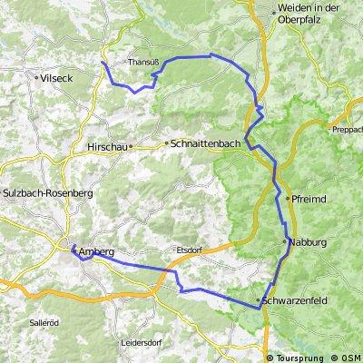 Freihung - Pfreimd - Amberg