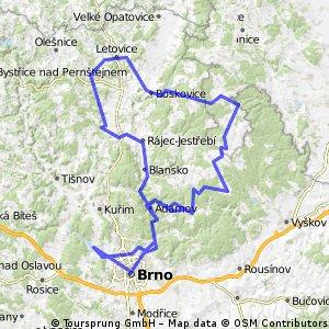 Brünn, entlang der Svitava usw...