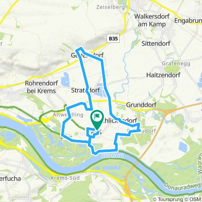 Radwandertag Gedersdorf Vorschlag Harald