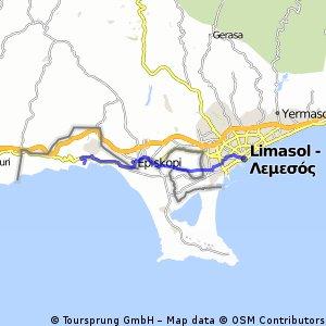 DAY 1 - Limasol + do noclegu