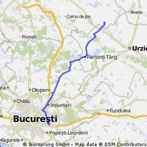 Salciile - Bucuresti [via Gradistea]
