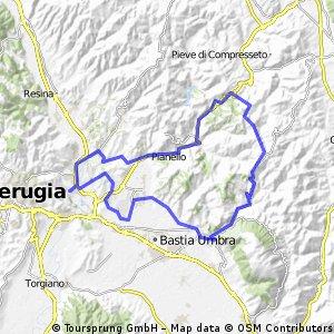 Route 23 (In den Fußstapfen des hl. Franz bis nach Assisi)