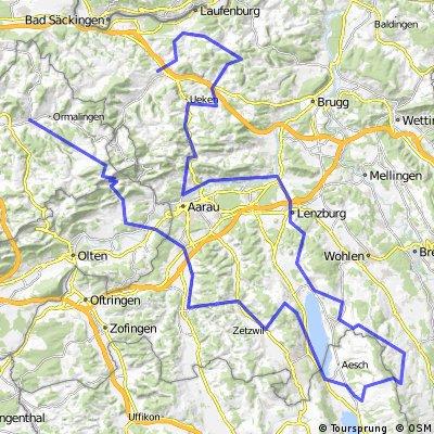 Schafmatt - Böhler - Hämikon - Staffelegg - Fricktal