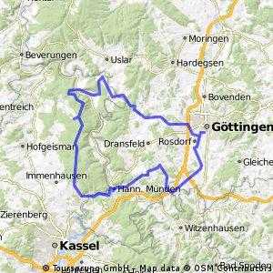 Hann-Münden - Sababurg - Heisebeck