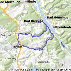 OB - Brohltal - Vinxbachtal - OB
