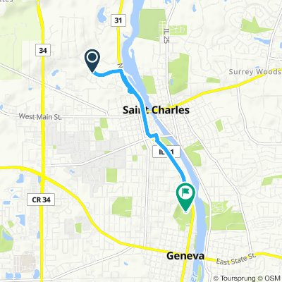 10km ride Route 31 and back