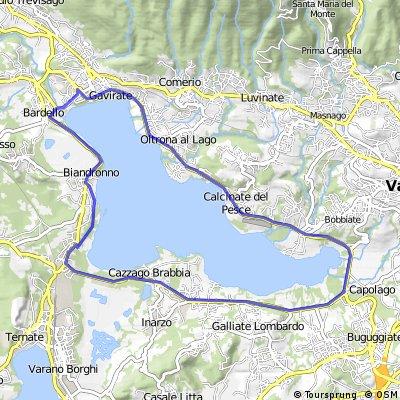 Giro del Lago di Varese