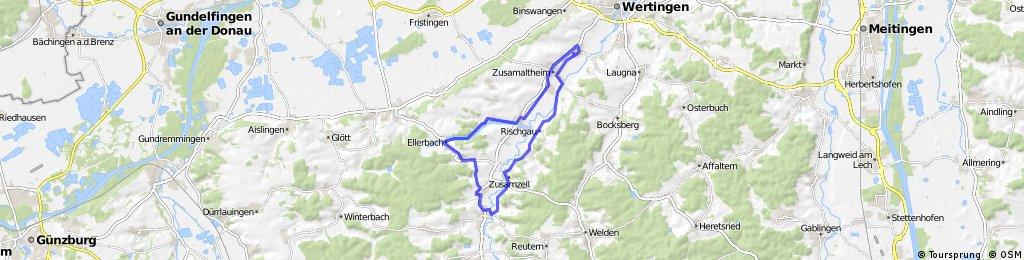2015-04-09 Hennhofen - Runde Roggden