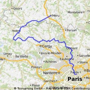 Paris - Méru
