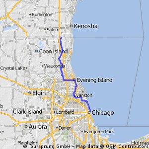 Lake County To Chicago