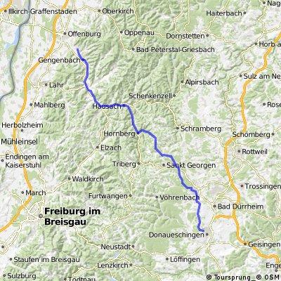 Offenburg (Ohlsbach) - Donaueschingen