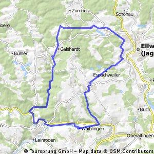 Waiblingen - Ellwangen - Rottal